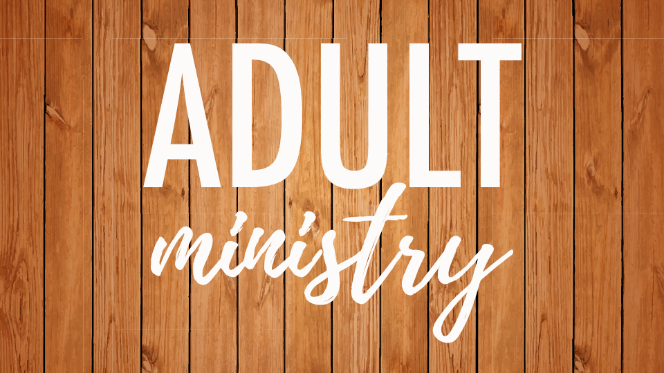 adult ministry