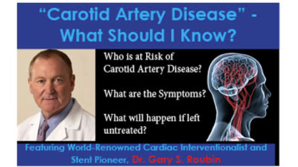 carotid artery disease At the university of chicago medicine, our vascular surgeons are experts in treating carotic artery disease.